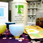 Il tè del lettore: tè verde geinmaicha con matcha e Caos calmo