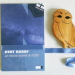 29 novembre, il gruppo di lettura legge Kent Haruf: Le nostre anime di notte