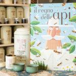 Libro, tè (e api) di primavera